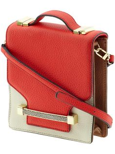 Summer 2013 Bags: Vince Camuto Julia Crossbody.   My Review: Great Color!