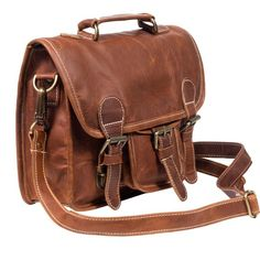 Mini Satchel (vintage brown)
