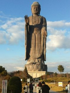 The highest buddha in the world.  @Ami japan.