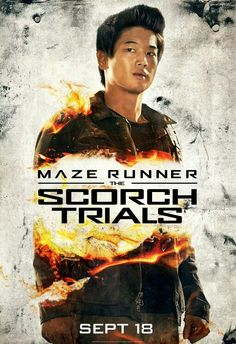 Newt, Brenda and Minho Star In New 'Scorch Trials' Posters: Photo Check out the next new posters for Maze Runner: The Scorch Trials! Newt (Thomas Brodie-Sangster), Brenda (Rosa Salazar) and Minho (Ki Hong Lee) get ready for… Dylan O'brien, Dylan Thomas, Newt Thomas, The Scorch Trials, Thomas Brodie Sangster, New Maze Runner, Maze Runner The Scorch, Maze Runner Trilogy, Maze Runner Series