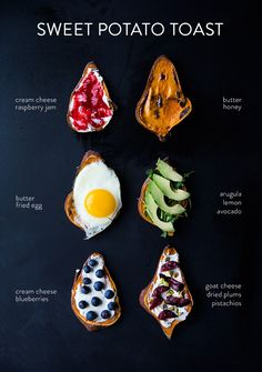 Toast is high on our list of favorite foods. Recently weheard of a new kind of toast and immediately had to try it out: sweet potato toast. Made just like bread in the toaster, the thin slices of sweet potato are topped with everything under the sun. Plus, this toast is gluten free, sweet + …