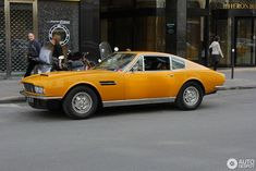 Aston Martin DBS V8 1969 - 1972 Aston Martin Dbs, My Dream Car, Dream Cars, Expensive Cars, Sport Cars, Concept Cars, Cool Cars, Classic Cars, Automobile