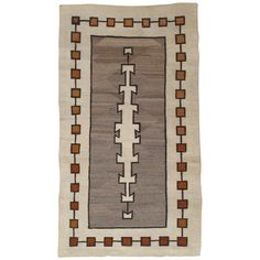 For Sale on - Navajo rugs and blankets are textiles produced by Navajo people of the four corners area of the United States. Navajo textiles are highly regarded and Navajo People, Navajo Rugs, Four Corners, North South, Native Art, Rugs On Carpet, Textiles, Wool, Blankets