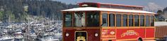 Have you heard about the Pierce Transit Trolley in Gig Harbor. This seasonal treat transports visitors and residents alike between Gig Harbor's three main commerce centers: Uptown Gig Harbor on Point Fosdick Drive, Gig Harbor North on Borgen Boulevard and Downtown Gig Harbor along Harborview Drive. Make sure to ride the trolley when you come visit Gig Harbor--it only costs $0.25 to ride!