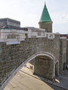 Porte Saint-Jean // Saint-Jean Gate in Quebec City Samuel De Champlain, Le Petit Champlain, Old Quebec, Montreal Quebec, Quebec City, Province Du Canada, Chute Montmorency, Chateau Frontenac, National Geographic Travel