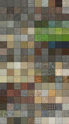 Complete Texture Pack by Akinuri.deviantart.com on @deviantART