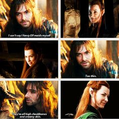 Kili you dirty little liar<-- haha yeah welll that was before he met her!!! <- When they met, they walked in starlight in another world!!!!! :p