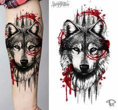 45 Wolf Tattoo Ideas … – Famous Last Words Wolf Tattoos Men, Forarm Tattoos, Animal Tattoos, Body Art Tattoos, Small Tattoos, Tattoos For Guys, Tattos, Fish Tattoos, Wolf Tattoo Design