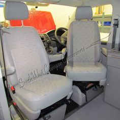South West Campervan conversions offer high quality RIB Single Swivel Seat Plates for use in VW T5 campervan conversions