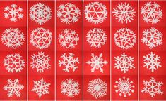 Tutorial Snowflakes Paper. Site is in Italian, but you can use Google Translate so you can read instructions.