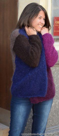 Une jolie veste, ça vous tente ? #ladroguerie #tricot