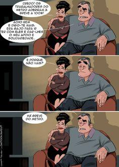 Cartoon: Adesão total