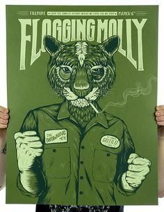 GigPosters.com - Flogging Molly - Drowning Men, The