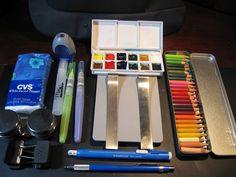 Sketchcrawl kit by missyancy, via Flickr