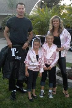 25 Awesome Family Costume Ideas..love this one grease was one of my favorite movies