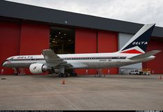 Delta Boeing 757-200. This aircraft was retired and painted in a heritage livery. It is now on display at the Delta Museum in Atlanta.