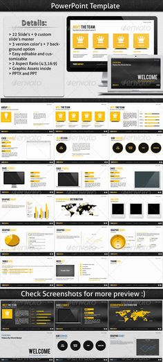 Great Idea Powerpoint Template - Presentation Templates