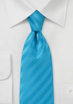 Here's a tie in Malibu blue. Same as bridesmaid dresses