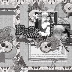 5 Shades of Gray and Lil Black Dress alpha by True North Scraps. Have you been looking for an elegant black and white kit?  This beautiful kit is destined to be a best seller, just like the book with a similar title.  However, this gorgeous monochromatic kit is much more suitable for scrapbook layouts!     I also used A year in a life: May Templates by AK Designs