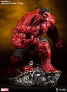 Red Hulk | Premium Format Figure | Quarter Scale | Sideshow Collectibles | JCG