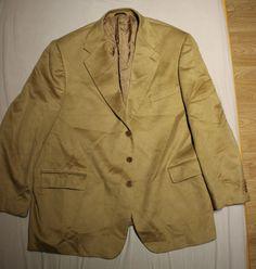 100% Cashmere Blazer Men BIG TALL XXXL Size 61 U.S. 50-51 Made in Italy  | eBay