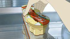 anime food shared by i a m p。 on We Heart It Anime Gifs, Fanarts Anime, Anime Art, Food Illustrations, Illustration Art, Anime Bento, Casa Anime, Aesthetic Gif, Food Drawing
