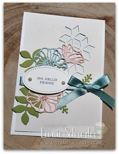 Oh So Subtly Eclectic Layers, Stampin up
