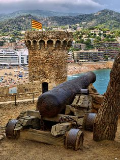 Tossa de Mar - Costa Brava,  Girona  Catalonia Holiday in 1982