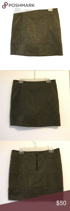 BCBG Generation Skirt Black and gold skirt - 16.5 inches from waist to hem BCBGeneration Skirts
