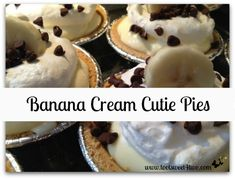 Banana Cream Cutie Pies