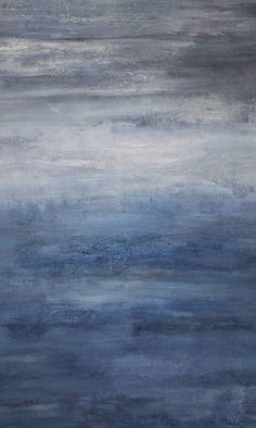 Abstract Ocean Painting, 30 x 40 Large Texture Canvas Wall Art by AmyNealArtStudio on Etsy