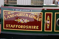 Phil offers comprehensive canal boat painting services for new narrowboats and re-paints. Canal Boat Art, Painted Signs, Hand Painted, Dutch Barge, Narrow Boat, Boat Names, Signwriting, Boat Interior, Boat Painting