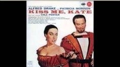kiss me kate musical 1948 - Google Search