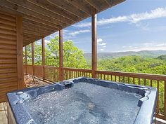 Soaking in the jacuzzi.....just need to work on getting this view too!