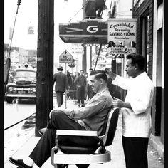 not a barbershop, per se, but still vintage