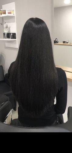 Long Silky Hair, Long Black Hair, Straight Hairstyles, Long Hair Styles, Beauty, Hairdos, Long Hairstyle, Long Haircuts, Long Hair Cuts