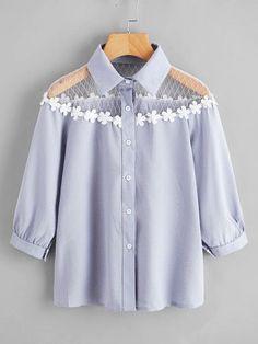 Красивые летние блузки: идеи для вдохновения 1