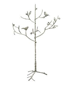 This Silver Birds Jewelry Tree is perfect! #zulilyfinds