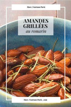 Amandes grillées au romarin, recette express idéale pour l'apéro #recettefacile #amande #apéro
