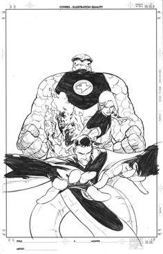 Fantastic Four by Stuart Immonen *