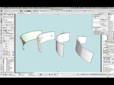 ARCHICAD modeling challenge: A Curved Wall with an Irregular Top - Shoegnome