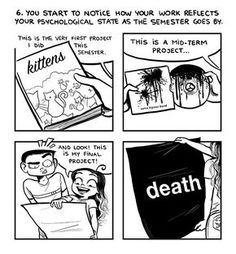 Truths About Being a Graphic Design Student 6 of 6 Cute Comics, Funny Comics, Funny Quotes, Funny Memes, Hilarious, Jokes, C Cassandra Comics, Sarah's Scribbles, Funny Comic Strips