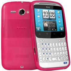 HTC ChaCha Hydro Gel Case - Hot Pink