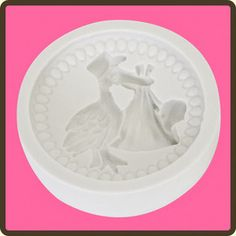 Baby 3 - Stork Mould by Katy Sue Designs