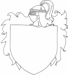 Create Your Own Coat Of Arms Worksheet  Google Search  Art Ideas