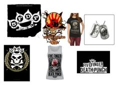 """""""Five Finger Death Punch"""" by danielle-bff-renee on Polyvore"""