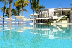 Just one of the crystalline infinity pools at the brand new Secrets Vallarta Bay.
