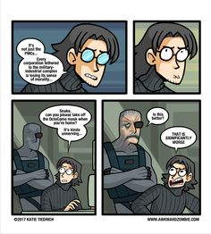"""""""THAT IS SIGNIFICANTLY WORSE""""  XD   AWKWARD ZOMBIE - Traumaflage"""