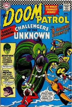 doom patrol | Doom Patrol Vol 1 102 - DC Comics Database