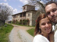 Ele me fez uma surpresa: achou a casa do filme de Bertolucci 'Beleza Roubada' - Stealing Beauty's house, my husband and I, Toscana, 2010